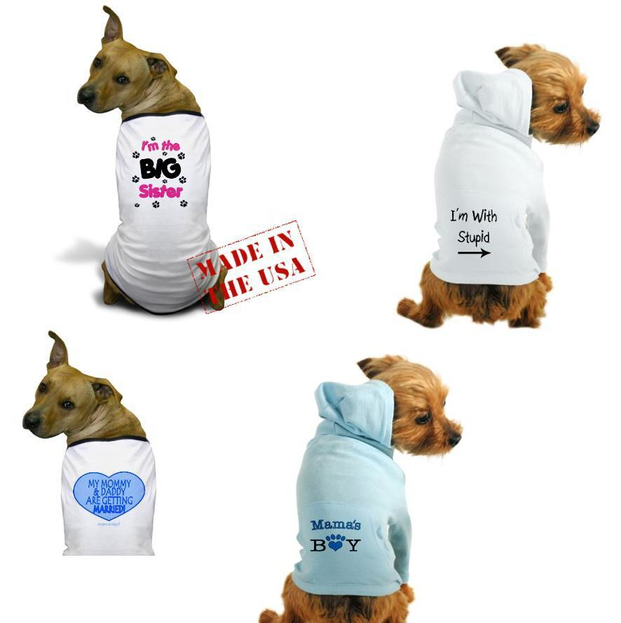 cute dog tees and hoodies