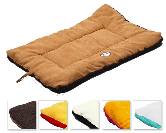ecopaw dog bed reversible