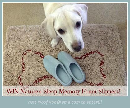 win memory foam slippers