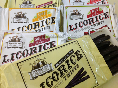newmans own organics licorice