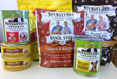 Newman's Own Organics pet food