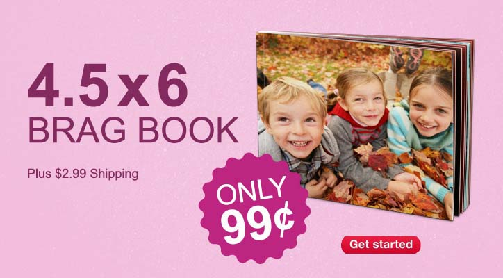 photo brag book with walgreens promo code