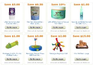 Amazon pet coupons
