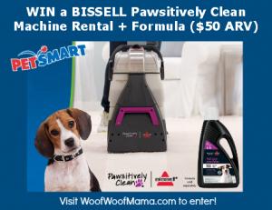 BISSELL PetSmart carpet giveaway