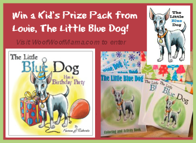 Little Blue Dog Kids Giveaway