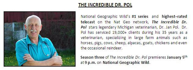 Exclusive Interview: 10 Questions w/ The Incredible Dr  Pol