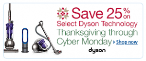 Dyson Black Friday to Cyber Monday Events