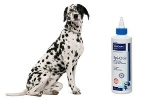 Epi-Otic Ear Cleaner Pets dogs cats