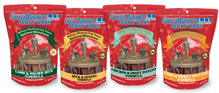 Jerky Bars raise money for national military dog monument