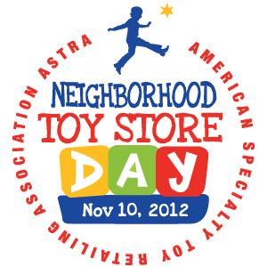 Neighborhood Toy Store Day