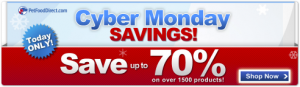 Pet Food Direct Cyber Monday