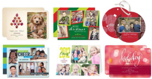 Tiny Print Holiday Cards
