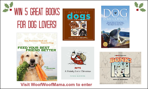 Win 5 Great Gift Books for Dog Lovers! {Ends 12/6} | Woof Woof Mama