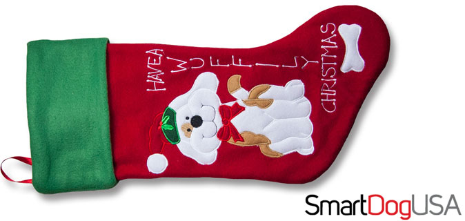 cute dog christmas stockings
