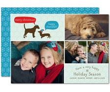 dog holiday card