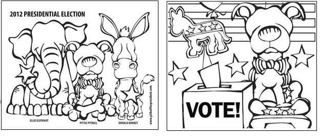 coloring pages vote - photo#32