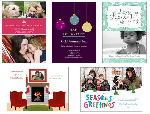 personalized holiday cards with photos