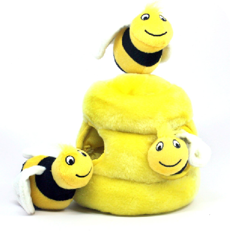 kyjen bee dog toy