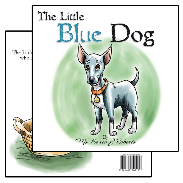 Little Blue Dog Children's Books