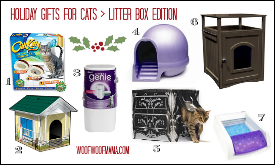 litter box holiday gift guide for cats