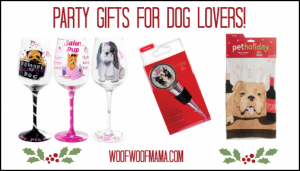 party gifts and wine accessories for dog lovers