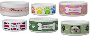 zazzle dog bowls