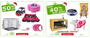 50% off pet supplies