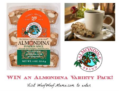 Almondina giveaway