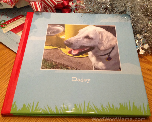 Daisy photo book from Shutterfly
