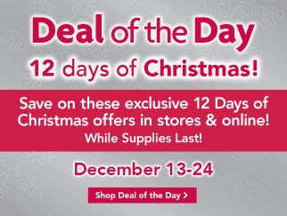 PetSmart 12 days of Christmas