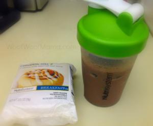 breakfast with nutrisystem