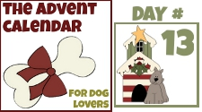 day 13 Advent Calendar for dogs