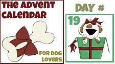 day 19 Advent Calendar dog lovers