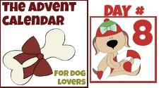 advent dog calendar