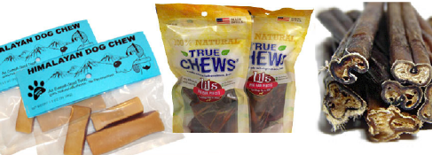 natural bully sticks and chews for dogs