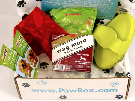 PawBox December Box