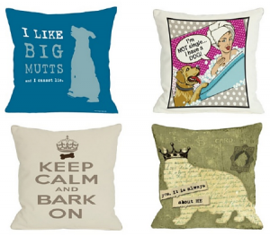 pillows for pet lovers