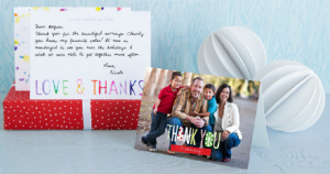 thank you cards half off