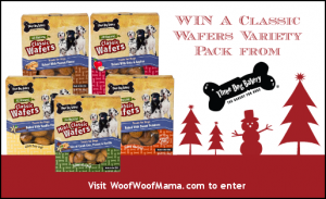 Win Dog Treats from Three Dog Bakery