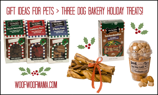 three dog bakery holiday treats