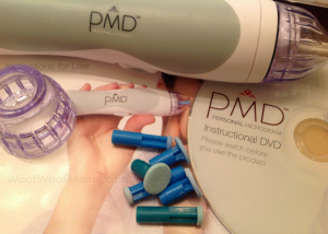 PMD microderm device