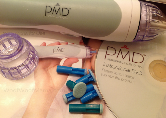 PMD microderm device