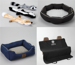 dog beds and toys from akc
