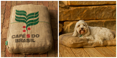 Burlap Pet Beds