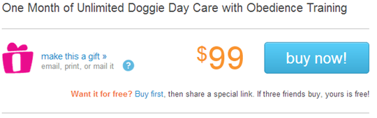 dog training deal
