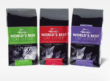 free bag of World's Best cat litter