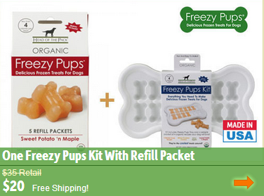 freezy pup organic dog treats