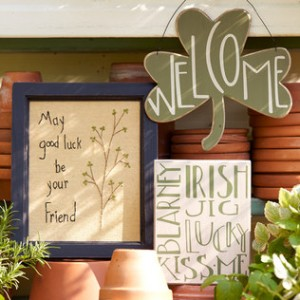 irish home accents and signs