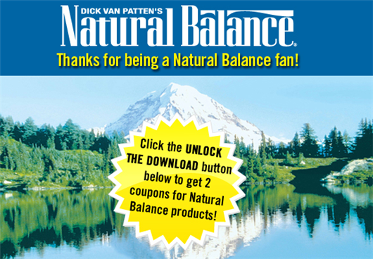 natural balance coupon