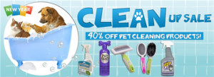 pet cleaning sale